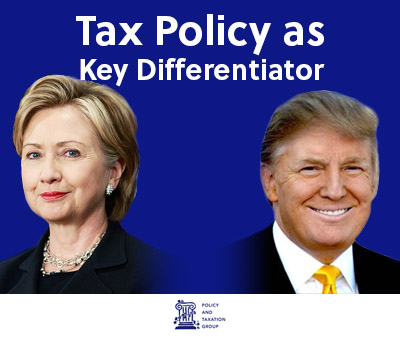 Tax Policy: Key Differentiator Between Presidential Candidates