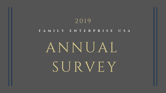 2019 – Family Business USA Survey