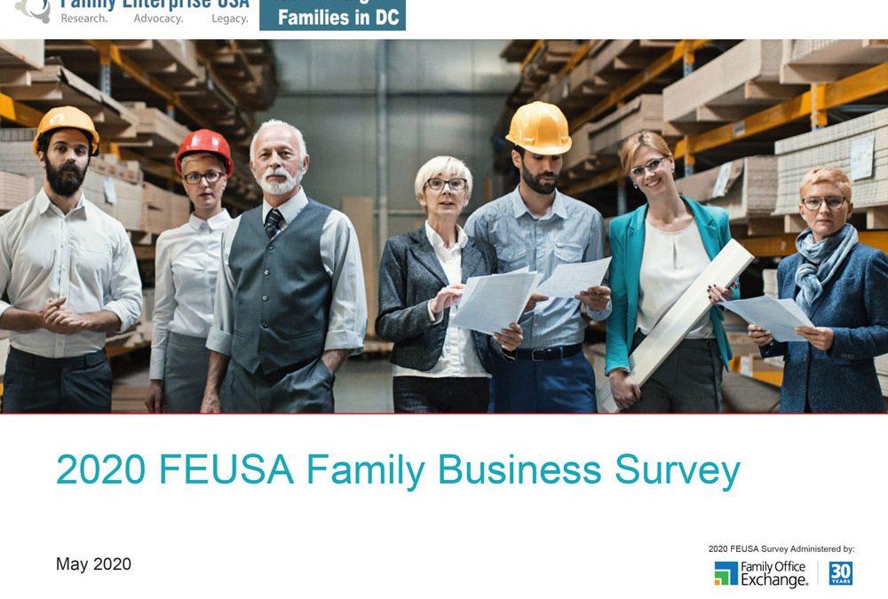 Survey of Family Enterprises Reveals COVID-19 Is Still a Big Concern