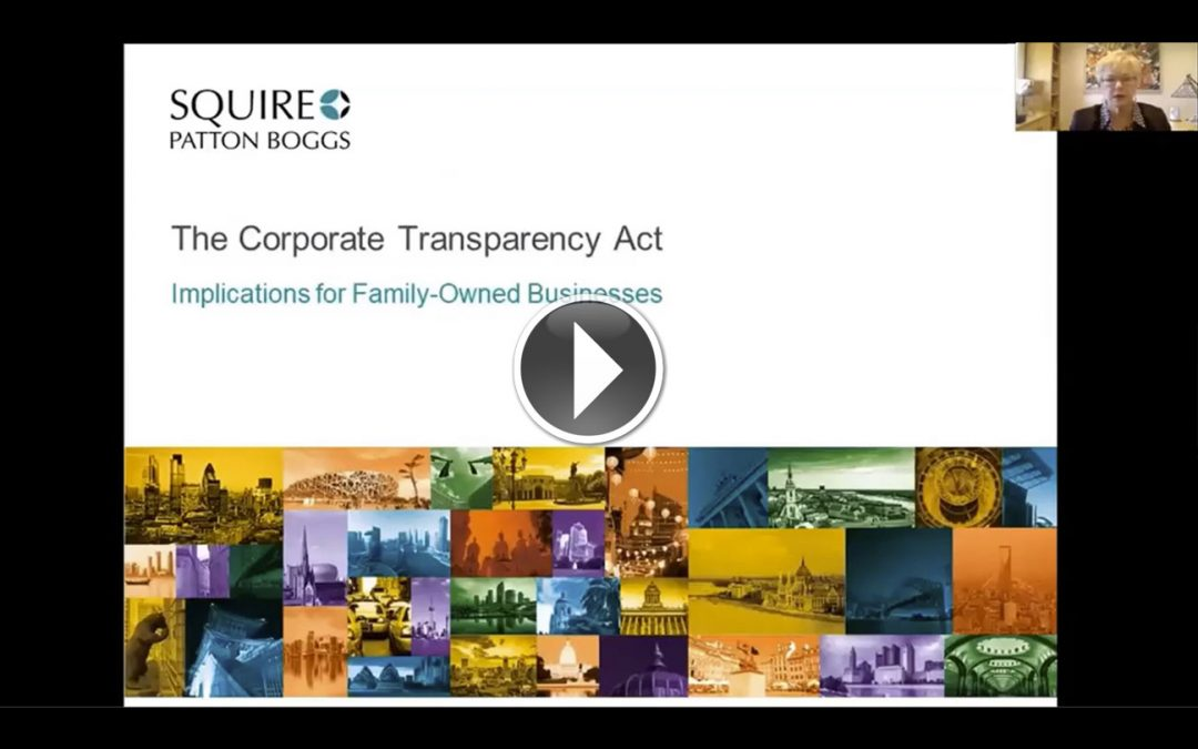 VIDEO: Corporate Transparency Act