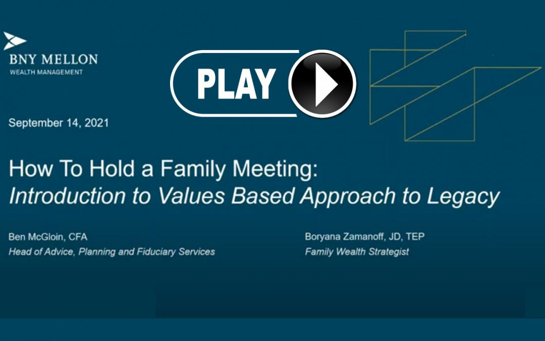 Webinar Replay: Introduction to Family Governance